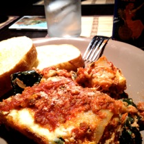 Lasagna from scratch with kale
