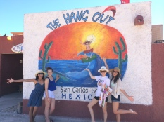 The Hang Out - home of the infamous crab tostada
